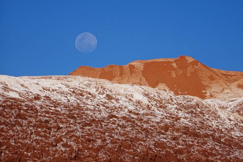 We were unable to take stargazing tours in San Pedro de Atacama as our trip coincided with the full moon