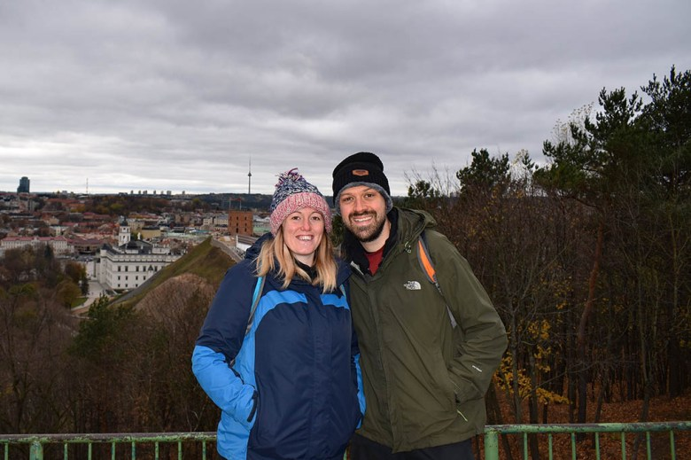 At the end of October we spent a few days in Vilnius, Lithuania, to celebrate our wedding anniversary
