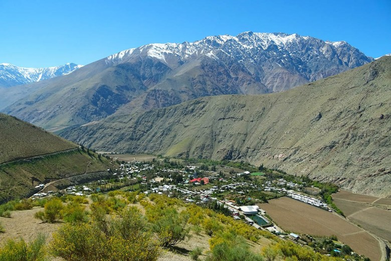 Pisco Elqui village is located at the heart of the Elqui Valley, a hotspot in Chile for stargazing