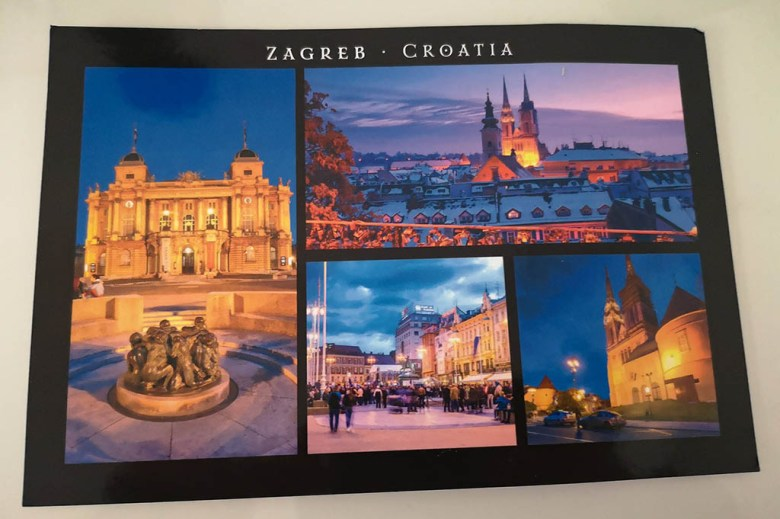 We received a postcard from our friend for whom we provided consultancy for a Europe travel itinerary