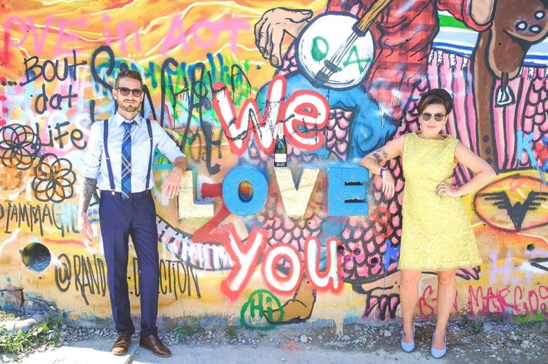 Gemma and Craig tied the knot in Austin, Texas during their travel career break