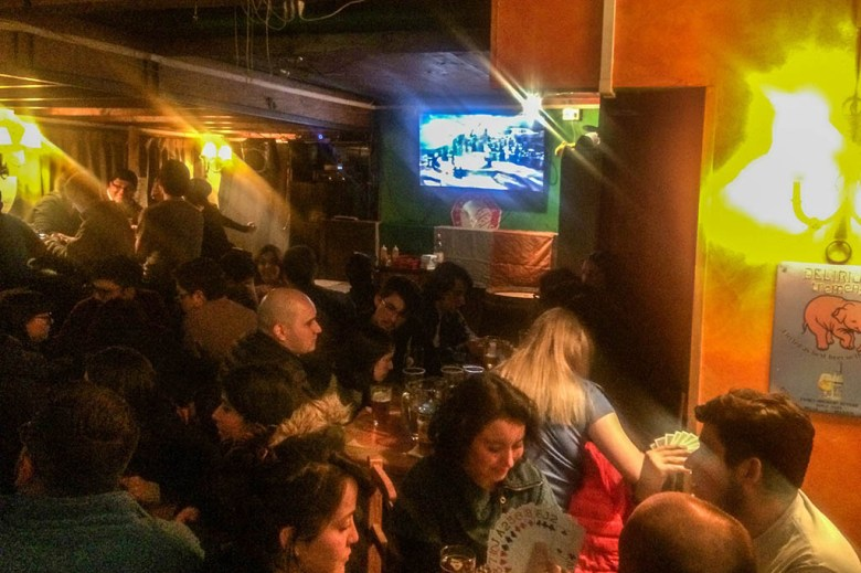 The Shamrock Irish pub in Santiago stages live screenings of Game of Thrones and other TV shows