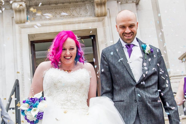 Alex and Lisa wedding