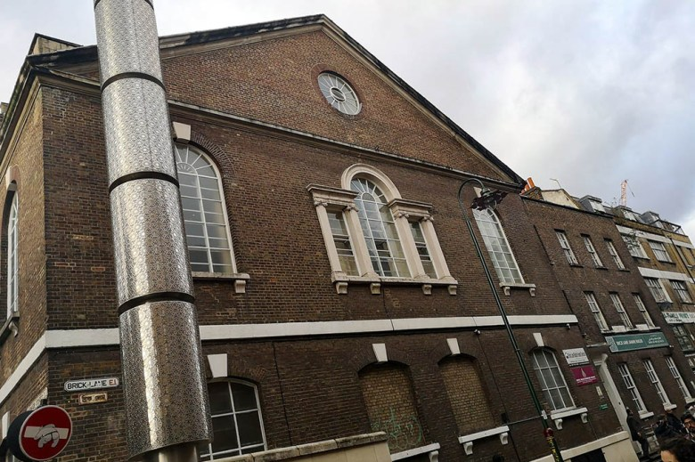 Brick Lane Mosque has functioned as a chapel, a church, a synagogue and mosque throughout its history