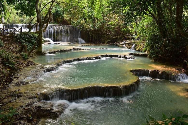 Kuang Si Waterfalls Laos