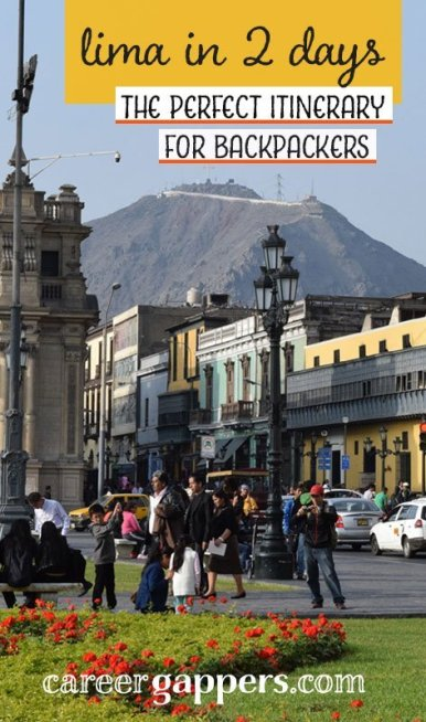 Lima, Peru's capital, is a city full of intriguing history and culture to discover. This itinerary lays out the perfect way to explore Lima in 2 days. #lima #peru #southamerica #traveldestinations #itinerary