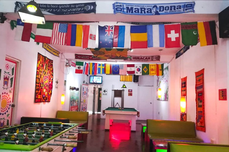 Just a couple of kilometres from Lima's international airport, Pay Purix is an excellent value hostel