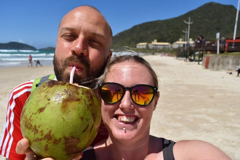 We spent four days exploring the best beaches in Florianópolis
