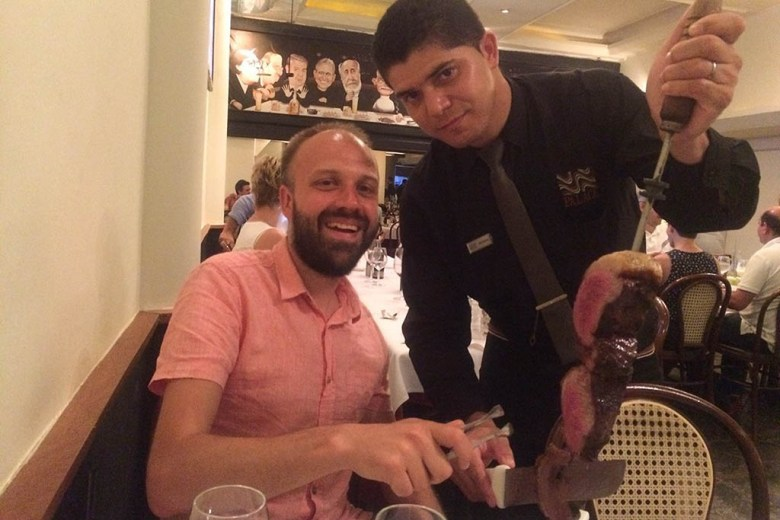 Churrascaria Palace is a great place to sample traditional Brazilian BBQ in Rio
