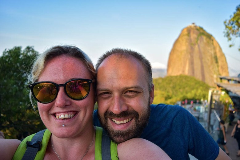 The cable car is the quickest and easiest way to reach Sugarloaf Mountain