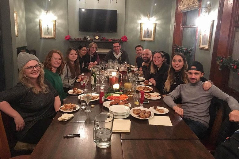 In December we helped to organise a London meetup of the Travel Bloggers Club