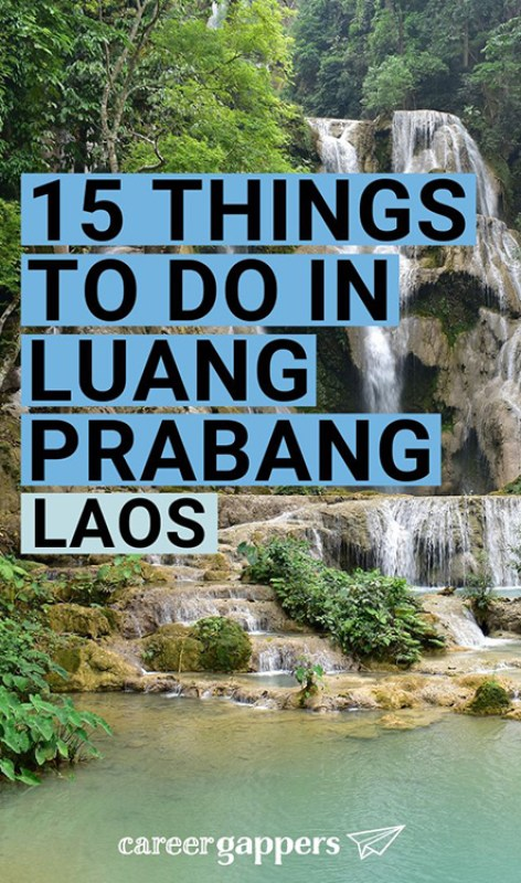 Luang Prabang, Laos, is a riverside city of tranquility and spirituality. Here are some of the top things to do in Luang Prabang for an invigorating stay. #asia #southeastasia #laos #luangprabang #traveldestinations