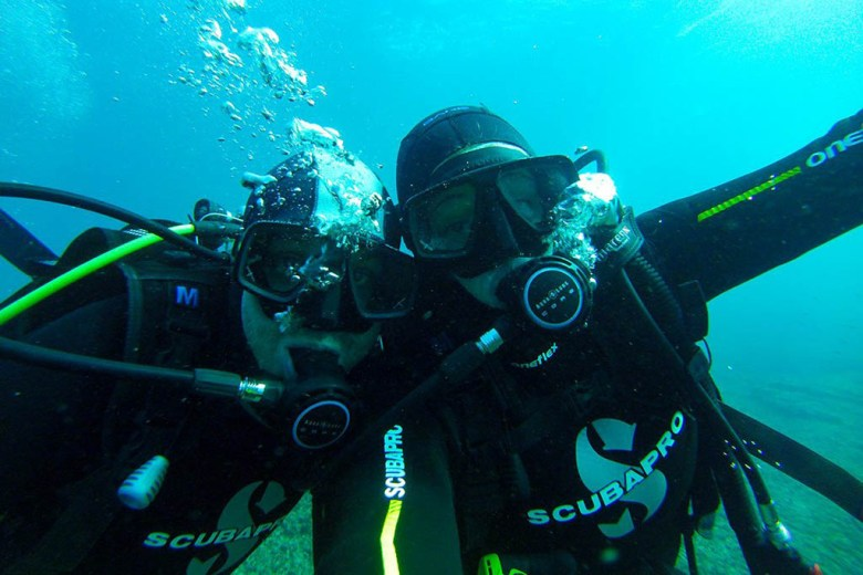 We had a great time exploring the waters in Malta with Watercolours Dive Centre