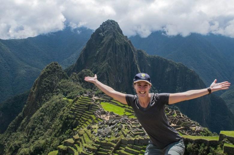 Seeing Machu Picchu was a highlight of Alisa's career break
