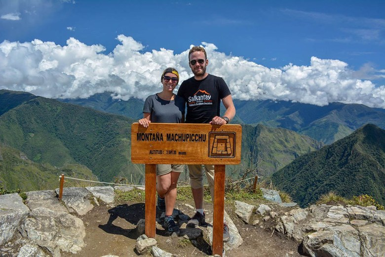 Ženja and Anders on the Salkantay trek to Machu Picchu, Peru