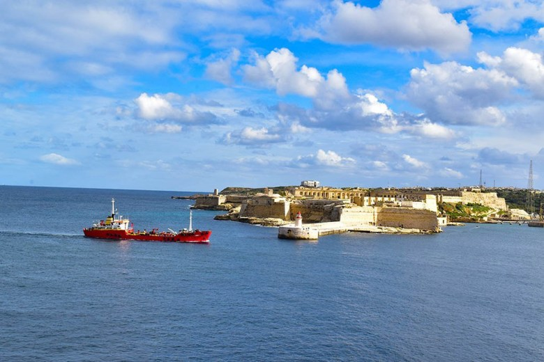 View of Grand Harbour from St Elmo in Valletta