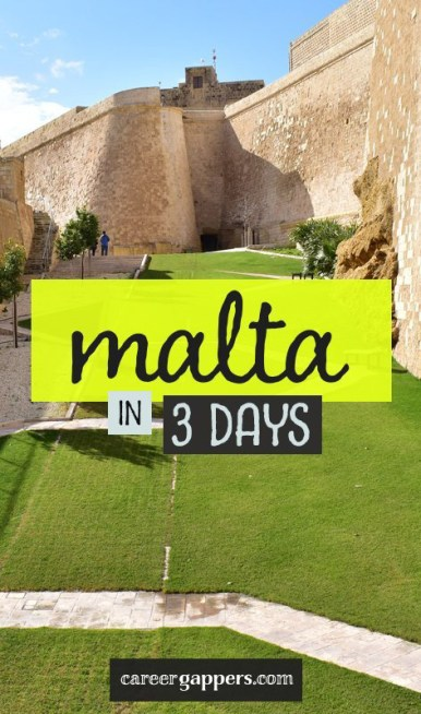 Malta is a land of sandstone citadels, rugged coastal scenery and rich history. We've compiled the perfect 3-day Malta itinerary to help plan your trip. #malta #maltaitinerary #visitmalta #maltatravel