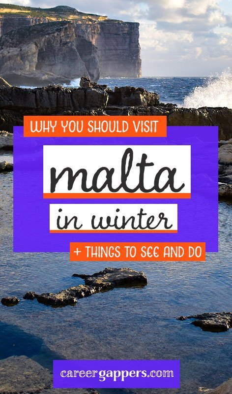 Visiting Malta in winter is a great time to explore its Mediterranean scenery and historic wonders, with a pleasant mild climate and fewer tourists around. #malta #visitmalta #maltainwinter #maltatravel #thingstodoinmalta