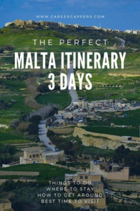 Plan your 3-day Malta itinerary during your travel in Europe with this complete guide. Sightseeing, activities, scuba diving, places to eat, where to stay and more. #malta #traveleurope #scubadiving #maltatravel #travelmalta
