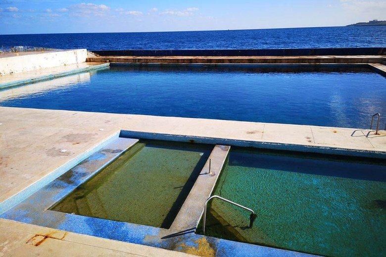 Watercolours Dive Centre has its own training pools and a house reef