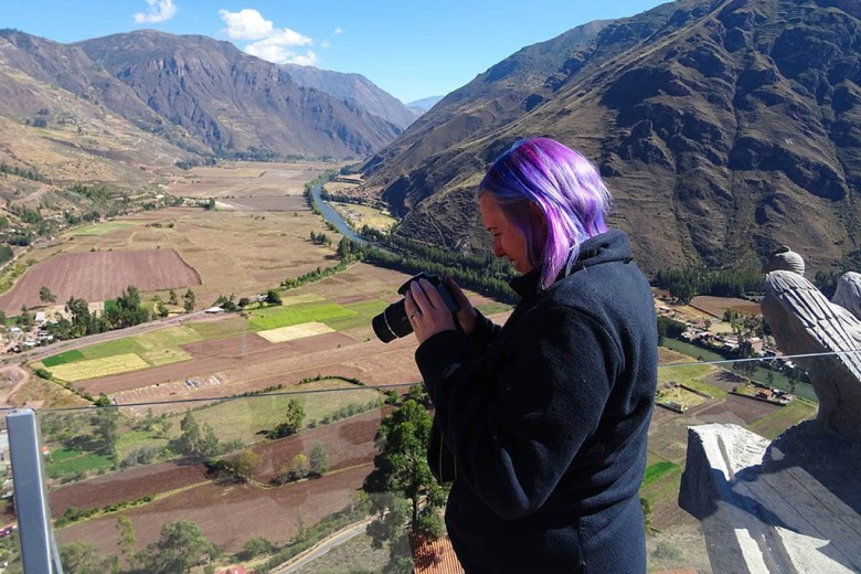 We used a Nikon DLSR and a Sony DSC-HX60 digital travel camera on the Inca Trail