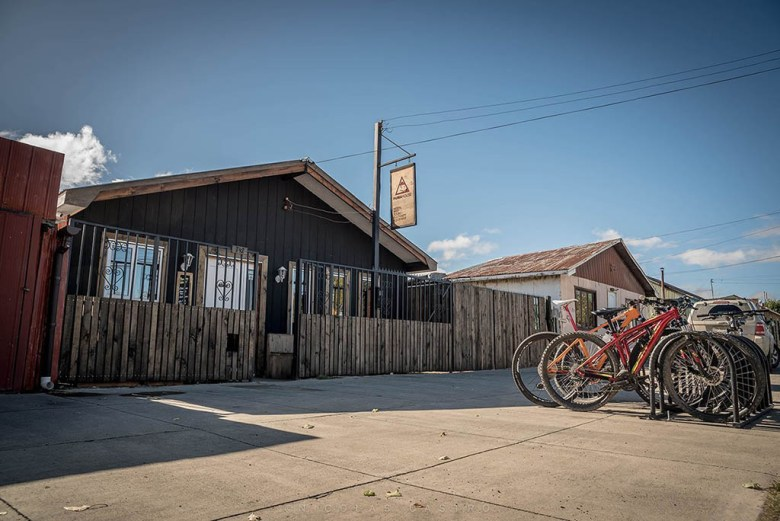 Puma House Hostel in Puerto Natales is made largely from recycled materials