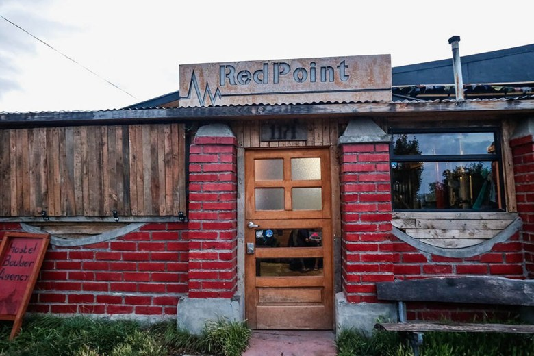 Red Point Patagonia is a hostel run by an enthusiastic team of local guides and climbers