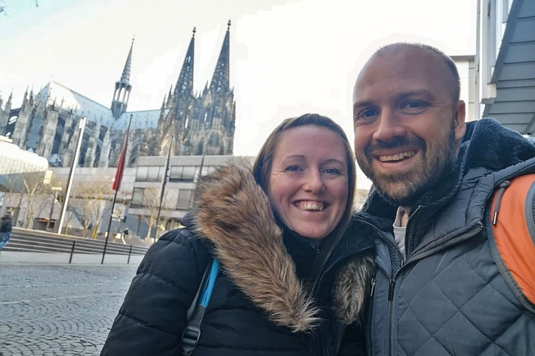 We took a day trip to Cologne to celebrate my birthday in March