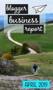 Each month we report on our progress and cashflow as we attempt to build a thriving travel blogging business. This is our business report for April 2019. #travelblog #incomereport #bloggingbusiness #blogging #digitalnomads