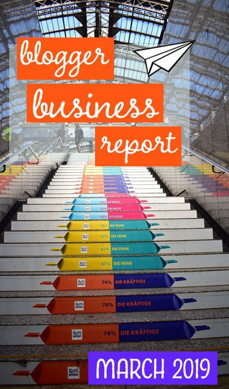 Each month we report on our progress and cashflow as we attempt to build a thriving travel blogging business. This is our business report for March 2019. #blogging #incomereport #businessreport #startablog #travelblog