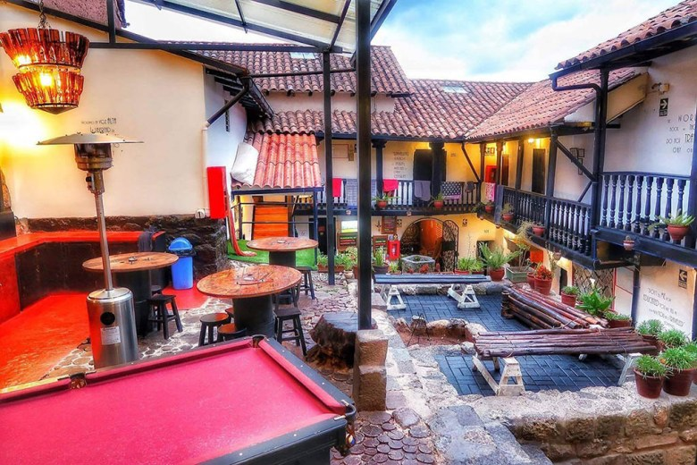 Intro Hostels in Cusco is situated in a renovated 300-year-old mansion