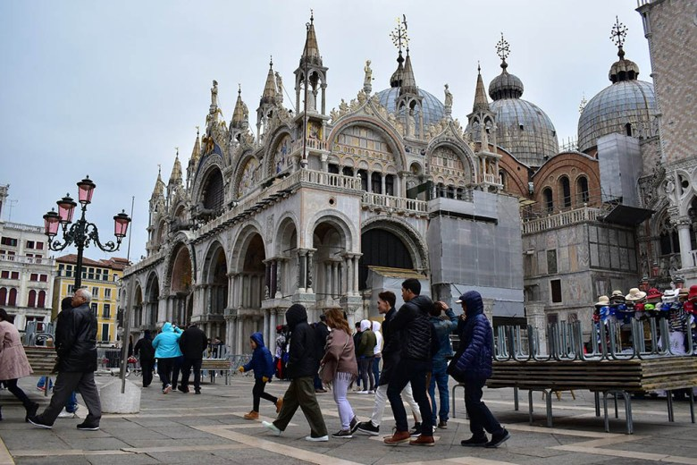 St Mark's Basilica is one of Venice's most spectacular and historic buildings
