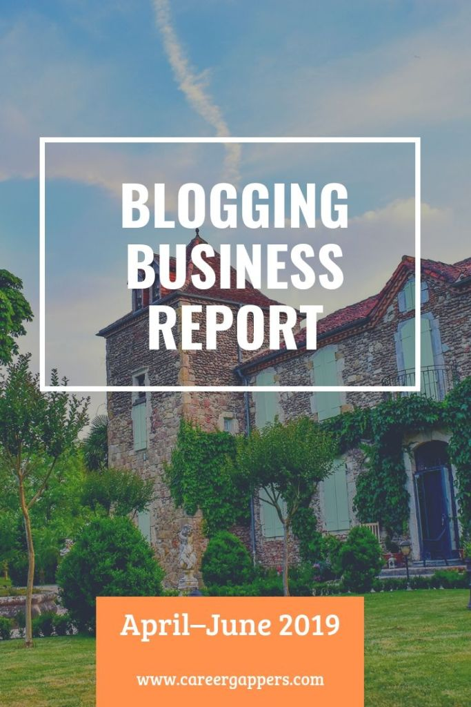Every three months we report on our progress as we attempt to build a thriving travel blogging business. This is our business report for April–June 2019. #blog #makemoneyblogging #incomereport #newbusiness #blogger #blogreport