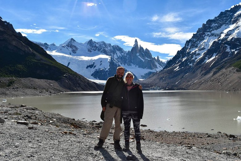 Laguna Torre is a classic, easy day hike from El Chaltén in Argentine Patagonia