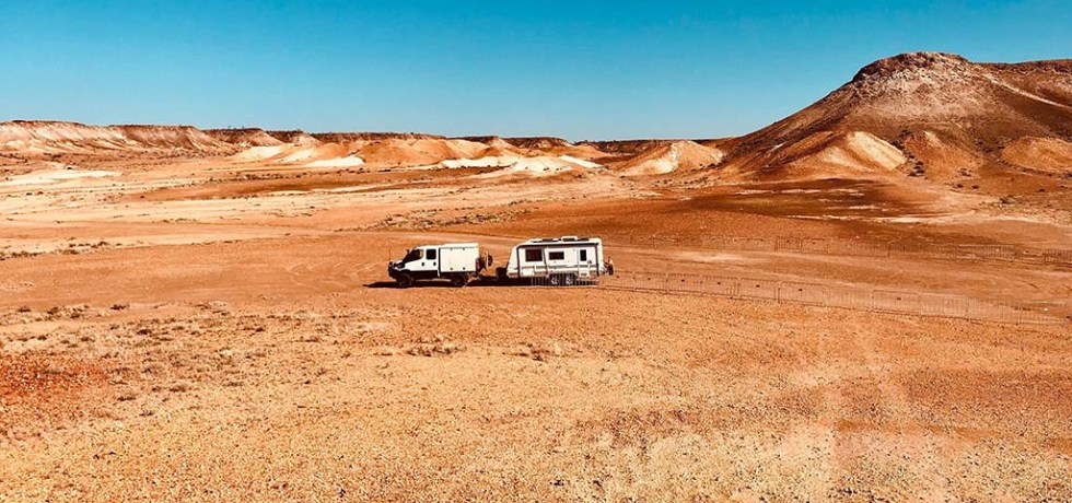 Career break family travel with a truck and caravan in Australia