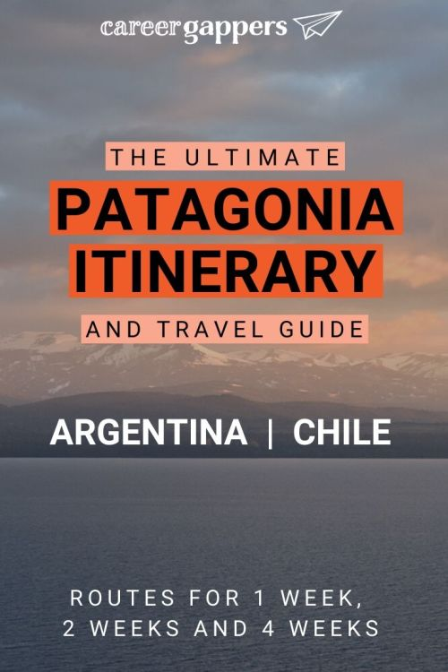Planning a Patagonia itinerary can be challenging. We've compiled amazing routes for 1, 2 or 4 weeks including where to stay, transport, activities & more. #patagonia #patagoniatravel #torresdelpaine #patagoniaitinerary #chile #argentina
