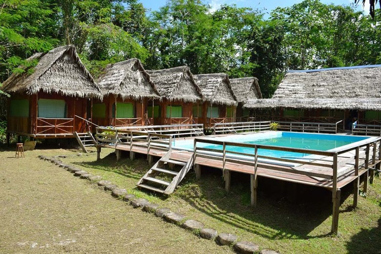 Amazon jungle lodge Iquitos