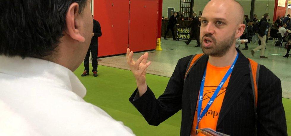 Alex in conversation at WTM London 2019