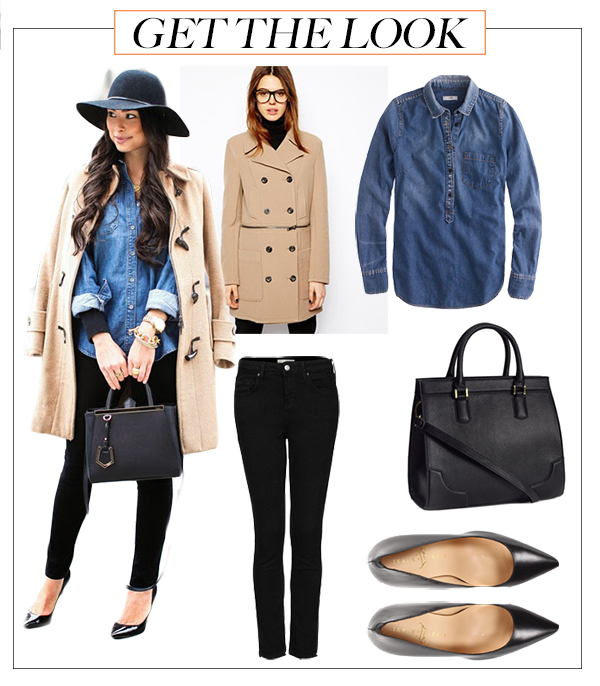 Get The Look Denim & Camel  Career Girl Network
