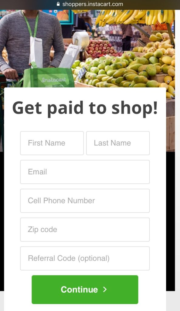 Going Behind the Scenes as an InstaCart Shopper
