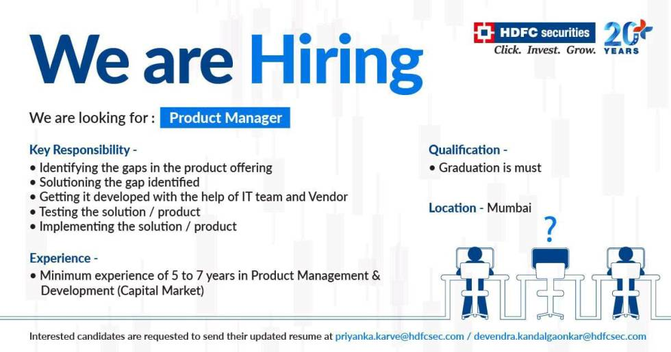 HDFC Bank product Manager