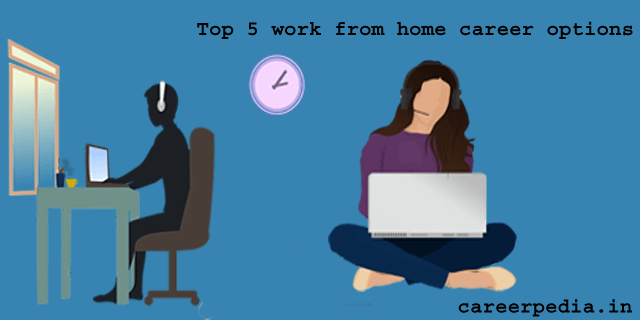 Top 5 work from home career options