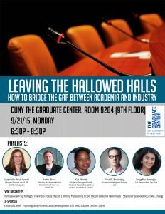 Beyond the Hallowed Halls Sept 21