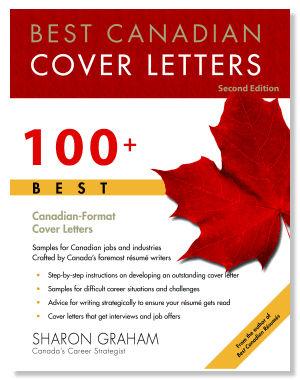 Best Canadian Cover Letters Sharon Graham Softcover Book