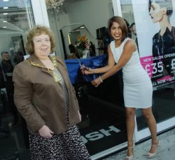 Franchisee Nita opening Rush Kilburn, July 2015