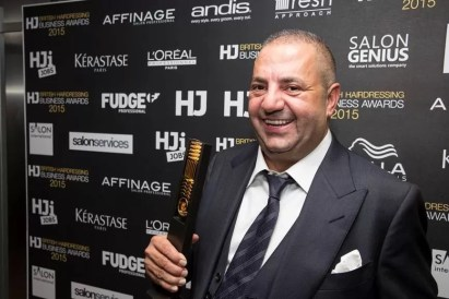 Andy Phouli HJ Director of the Year winner