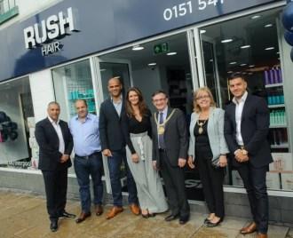RUSH Liverpool salon opening