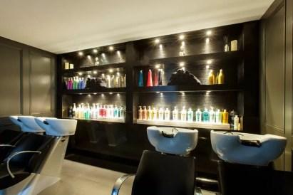 Backwash area in the new Rush Birmingham salon