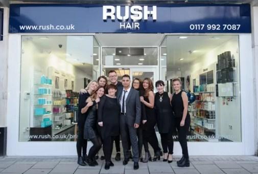 Rush Bristol Salon Team