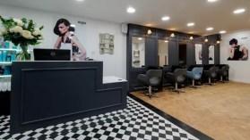 Rush Dorking's vintage salon interior